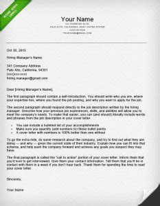 how to write a great cover letter 40 templates resume