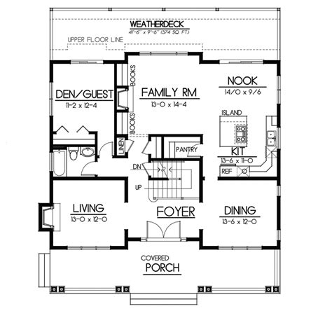 craftsman floor plan carters hill craftsman home plan 015d 0208 house plans
