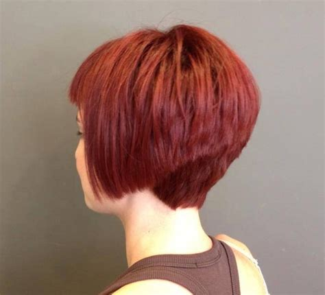 curly plunging bob with a short back angled bob plunging bob in bob curly plunging bob with short back
