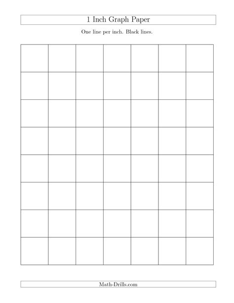 Free Online Drafting Tool 1 inch graph paper with black lines a