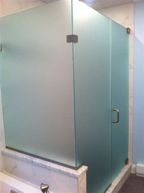 shower glass doors furniture bathroom cool frosted glass shower doors custom frameless glass corner shower