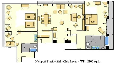 Disney Contemporary Resort Hospitality Suite Floor Plan - accommodations and theming at disney s club resort