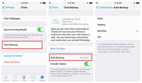 tutorial backup whatsapp how to backup iphone whatsapp messages
