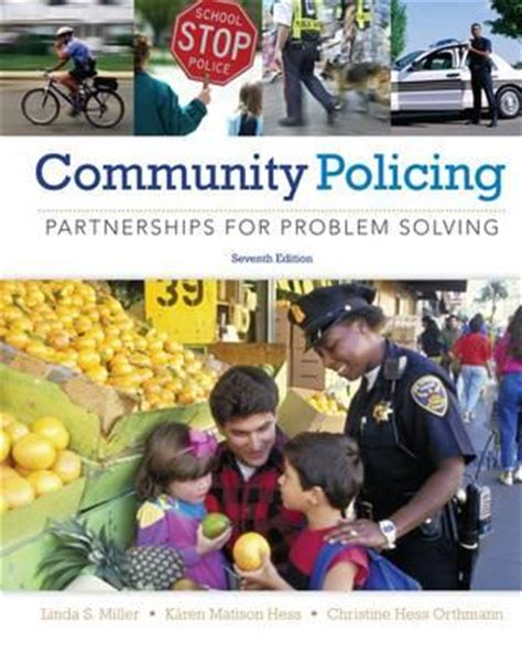 policing books community policing a miller 9781285096674