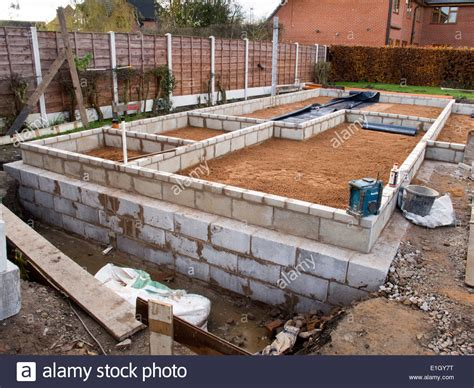 how to build a floor for a house self building house sand blinding on compacted floor base awaiting stock photo royalty free
