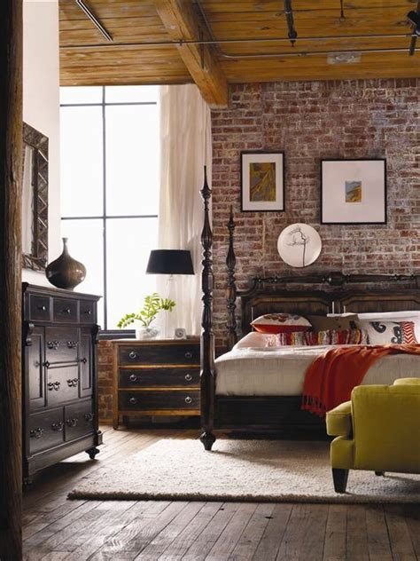 brick bedroom wall 54 eye catching rooms with exposed brick walls loombrand