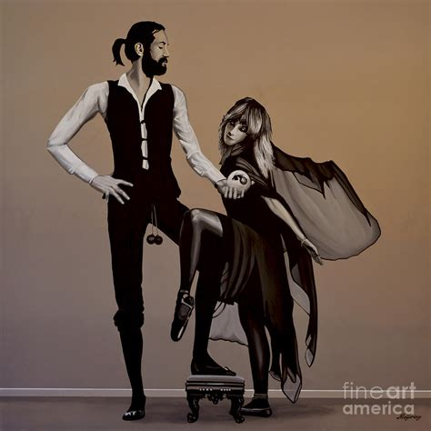 Fine Home Decor by Fleetwood Mac Rumours Painting By Paul Meijering