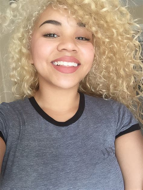 medium blonde biracial and mixed hair biracial mixed mixed hair clayel smiles