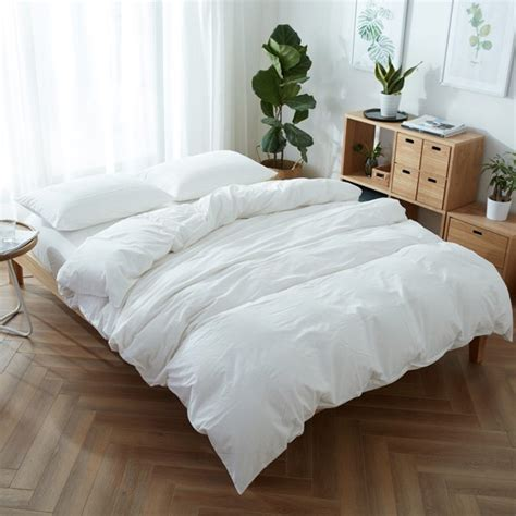 washable comforter sets household washable cotton fitted sheet 4pcs bedding set in