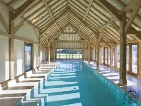 an oak framed garage swimming pool house and barn