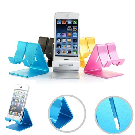 Hillsionly Universal Cell Phone Smartphone Desk Stand Smartphone Stand For Desk