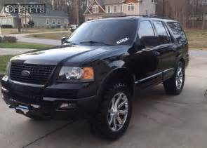 Ford Expedition Rims Wheel Offset 2004 Ford Expedition Leveling Kit Custom Rims