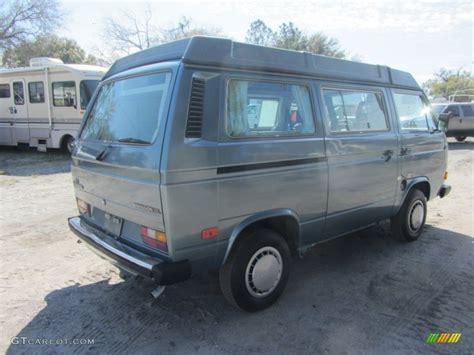 volkswagen vanagon blue 1987 dove blue metallic volkswagen vanagon gl cer