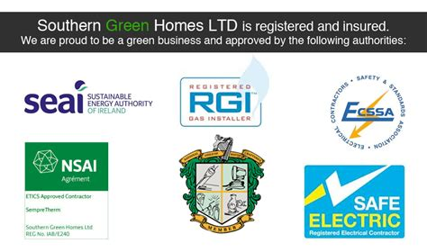 Southern Gas And Plumbing by Southern Green Homes Cork Munster Approved By Registered