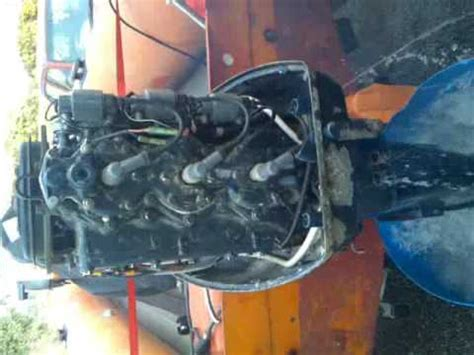 yamaha boat motor overheating yamaha 75hp outboard 75aet overheat problem after youtube