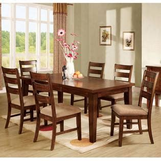 7 pieces old oak mission style dining room set with high 247shopathome priscilla mission style antique oak 7 piece