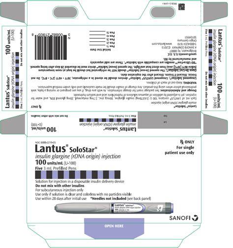 Lantus Insulin Shelf by Insulin Glargine Wikidoc