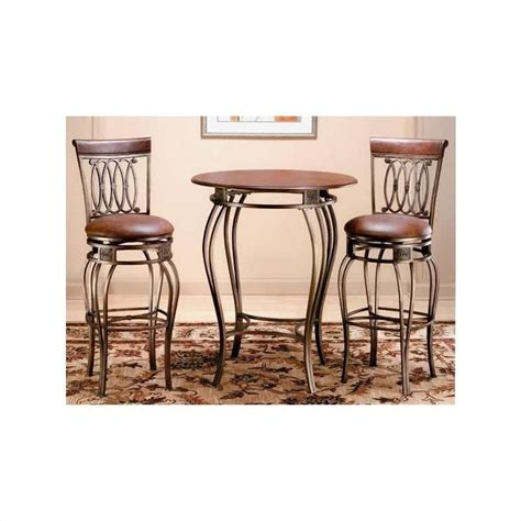 Bar And Bar Stools Set by Hillsdale Montello Pub Table And 2 Bar Stools Bistro Set