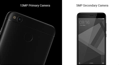 Xiaomi Redmi 4x Matte Black Ram 2gb Rom 16gb T3009 3 xiaomi mi 5c and redmi 4x versus by compareraja