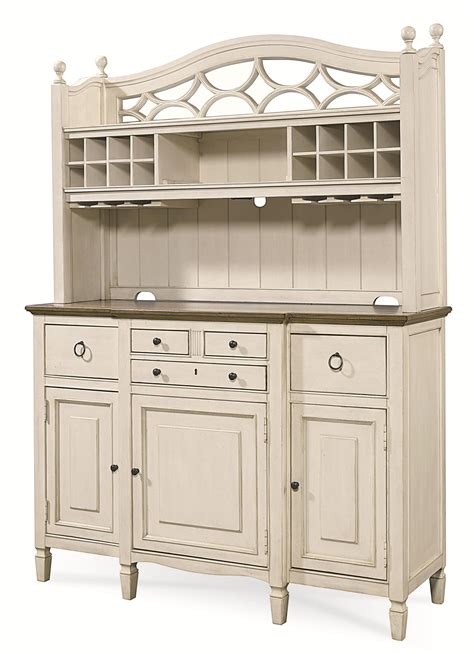 bar hutch universal summer hill 987670c 2 pc serving buffet and bar