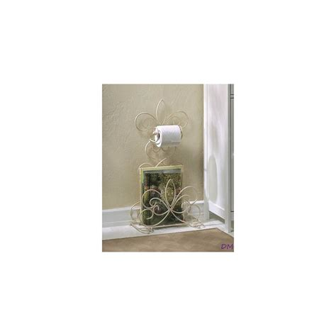fleur de lis bathroom accessories fleur de lis standing toilet paper holder rack db decorate