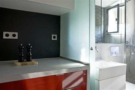 130 sq ft micro apartment in paris kitchen and bathroom 130 square foot micro apartment in paris big tricks in a