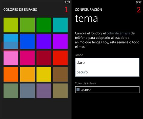 imagenes para celular windows phone cambiar el aspecto y notificaciones con windows phone
