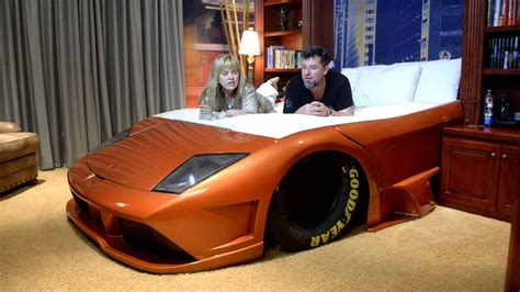 bed for car lamborghini car bed youtube