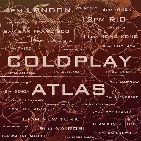 atlas lyrics coldplay atlas your radar