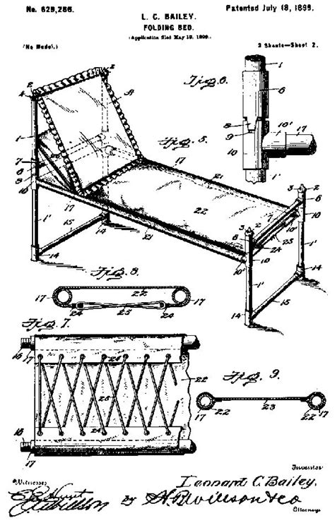 lc bailey  granted  patent