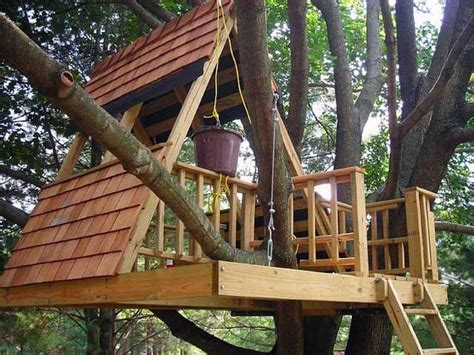 how to build an a frame cabin 15 awesome treehouse ideas for you and the kids