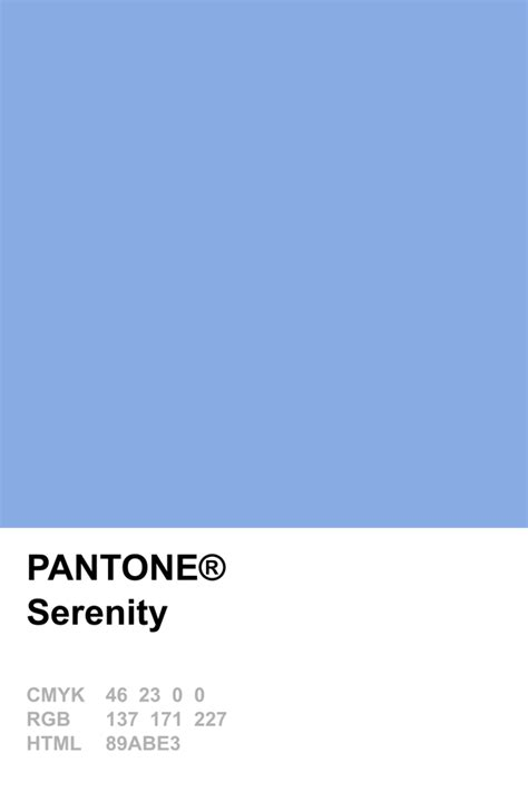 serenity color pantone serenity colour of the year 2016 colores y