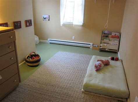 montessori bedroom baby simple pallet style base to allow the mattress to air safe for baby as if the roll