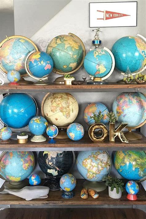 best 25 vintage globe ideas on