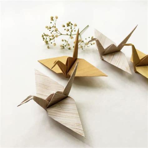 Diy Origami Crane - diy wooden origami cranes origami cranes diana and