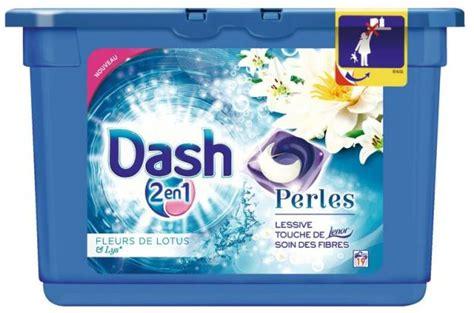 Dash 1 Emperor 2 lessive dash 2en1 perles 30 doses gratuites gain de 0 96