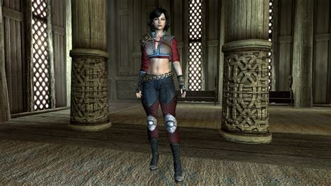 sevenbase outfit the witcher 3 ciri dlc outfit awesome skyrim mods