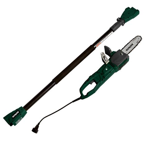 sun joe 2 in 1 8 in 8 electric convertible pole chain