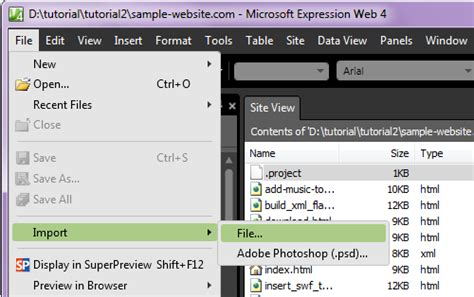 Template Per Microsoft Expression Web Tutorial Needssokol Microsoft Expression Web 4 Templates