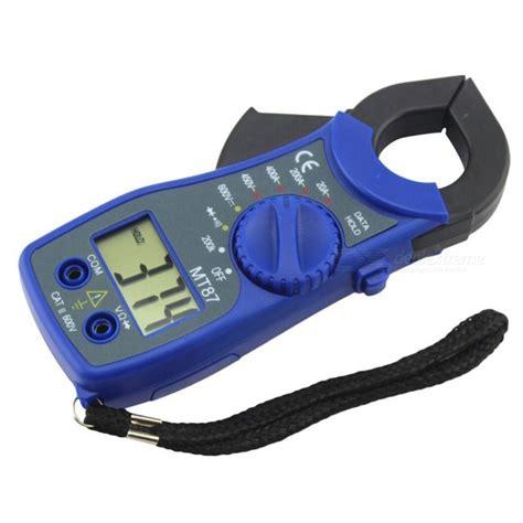 Digital Cl Meter Blue zhaoyao lcd digital voltmeter ammeter ohmmeter multimeter
