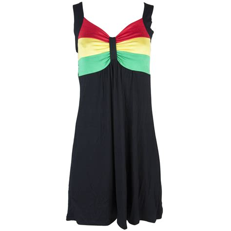 Dress Black Raisya rasta and reggae dress