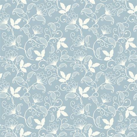 Vector flor padrão padrão sem costura. Textura elegante