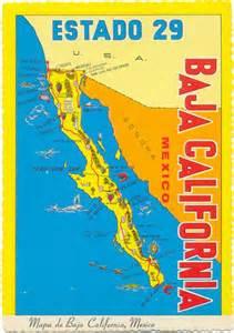 postcardy the postcard explorer map baja california
