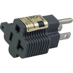 Home Depot Lawn Decorations ac works plug adapter 15 amp household plug to 20 amp t