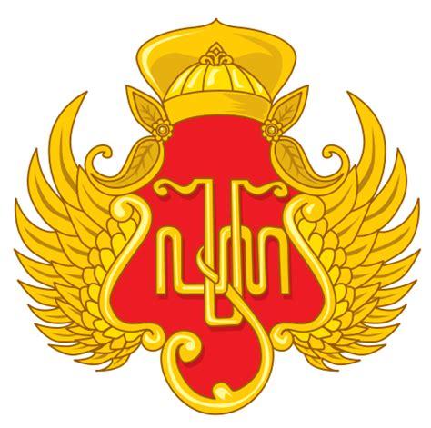 Emblem Logo Tersformen Warna Kuning flywheels filosofi lambang keraton yogyakarta