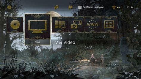 ps4 themes location new bloodborne dynamic ps4 theme released in north america