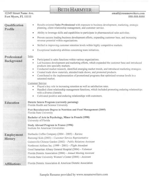 Computer Services Manager Sle Resume by Account Manager Resume Exle Sle Sales Professional Resumes Career