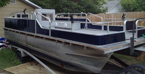 lowe pontoon boat seats the 1996 lowe rebuild pontoon forum gt get help with your
