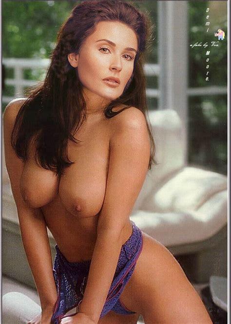 Various Fake Nude Photos Of Demi Moore And Her Nice Pair