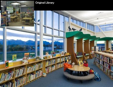 google ui pattern library elementary school library design ideas school library